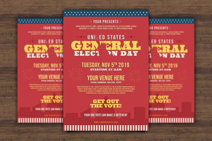 Thumbnail for US General Election Day Flyer