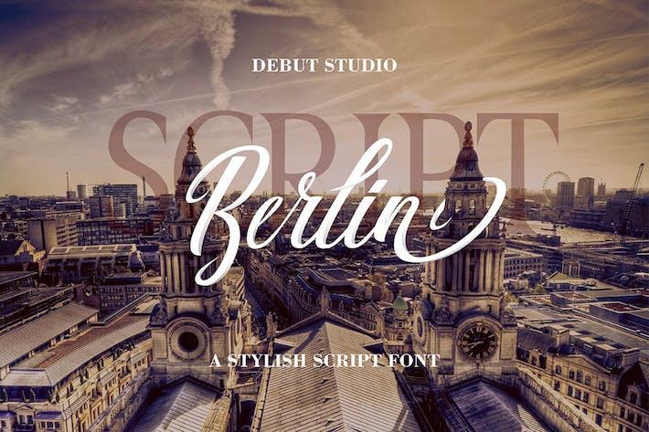 Thumbnail for Berlin Script + Great Serif