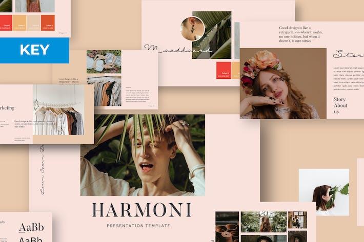 Thumbnail for Harmoni Minimal Business Keynote