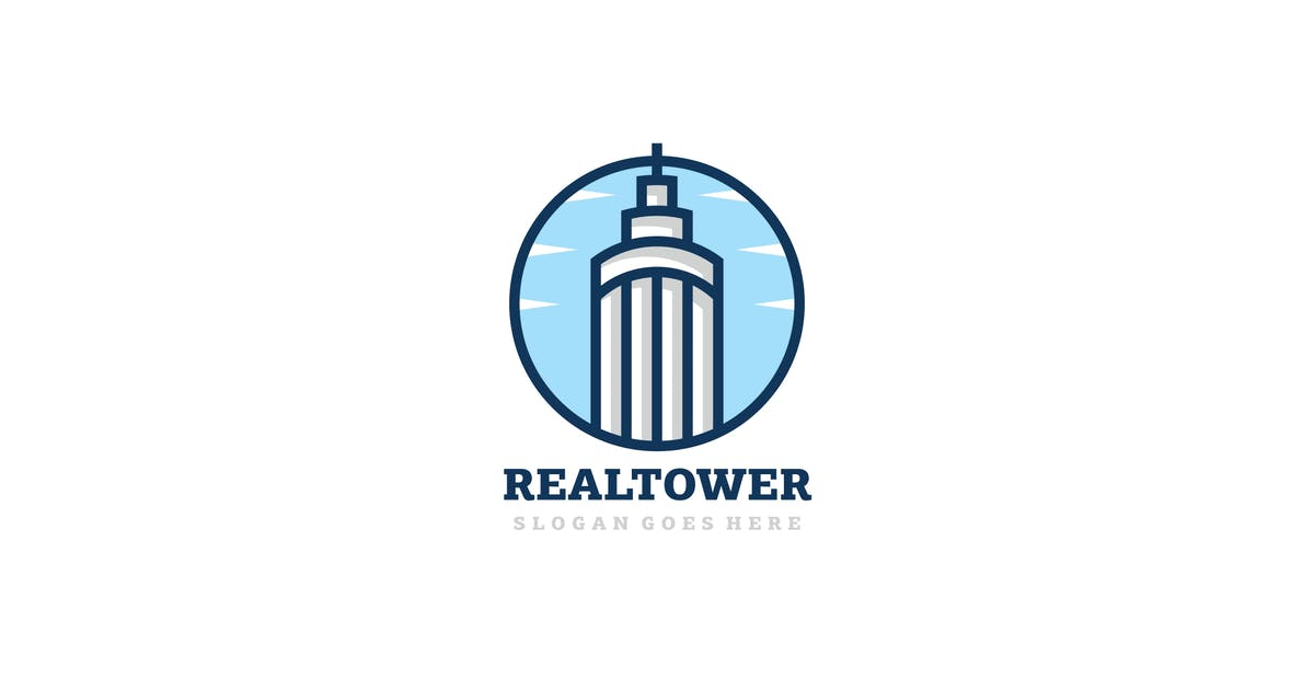Download Real Estate Tower Logo by 3ab2ou