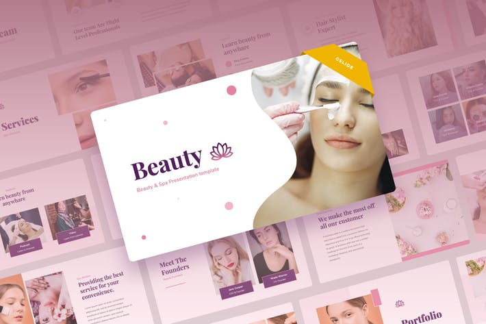 Thumbnail for Beauty - Beauty & Spa Google Slides Presentation
