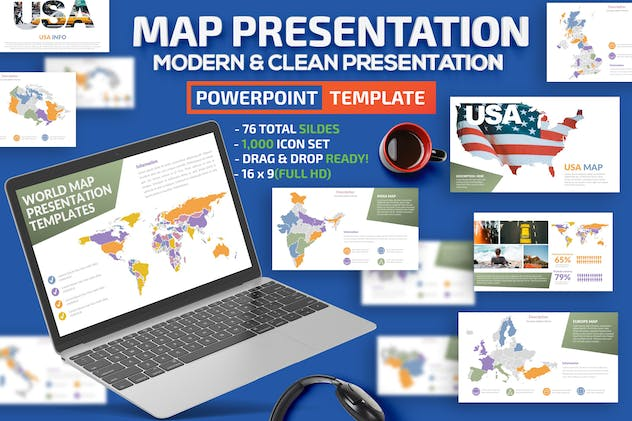 Map Design Powerpoint Presentation