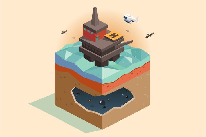 Thumbnail for Offshore oil rig