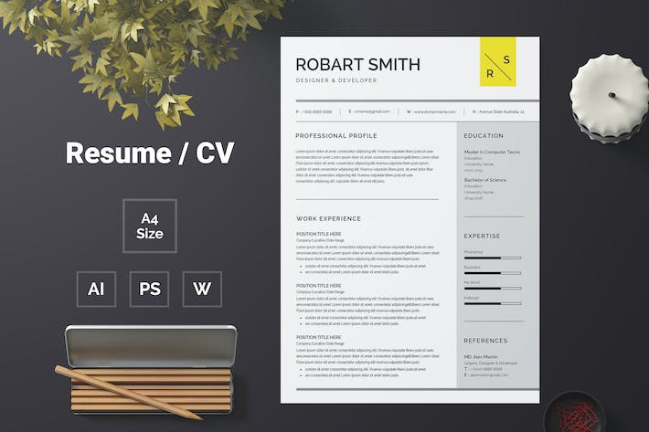 Thumbnail for Resume Template 63
