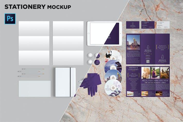 Thumbnail for Brand Identity / Stationery Mockup 03