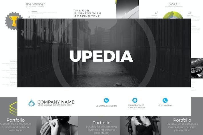 Thumbnail for UPEDIA Google Slides