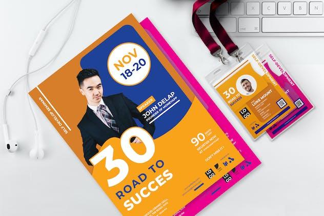 30 Road To Success - Seminar Invitation
