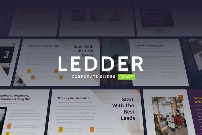 Thumbnail for Ledder - Elegant Business Theme Keynote