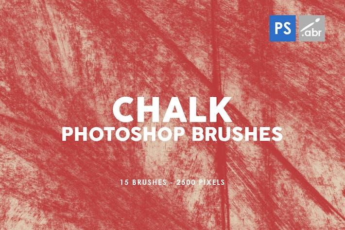 Thumbnail for Мел текстуры Photoshop штамп Кисти 2