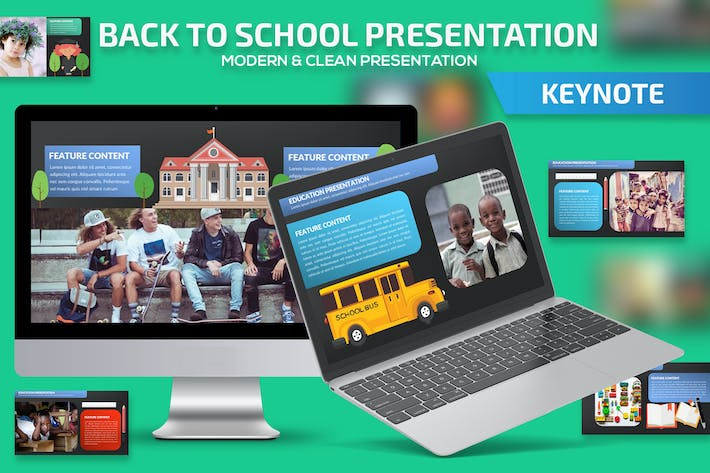 Thumbnail for Back to school keynote presentation