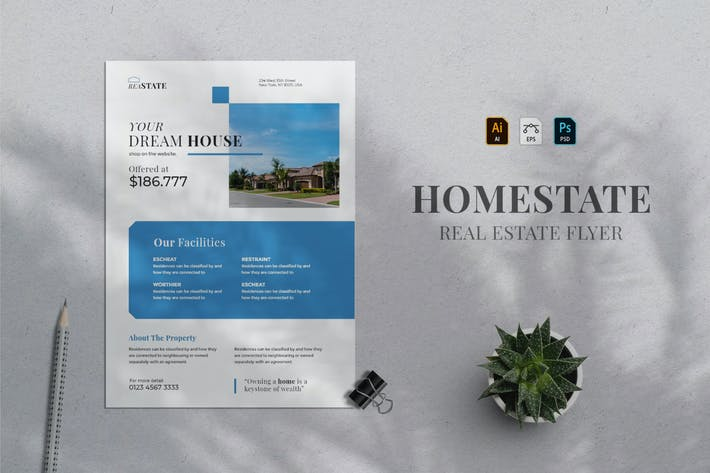 Thumbnail for Real Estate Flyer 03