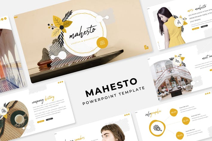 Thumbnail for Mahesto - PowerPoint Template