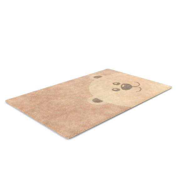 Cover Image for Nursery Bear Rug