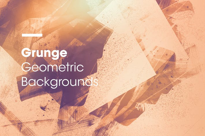 Thumbnail for Grunge | Geometric Backgrounds