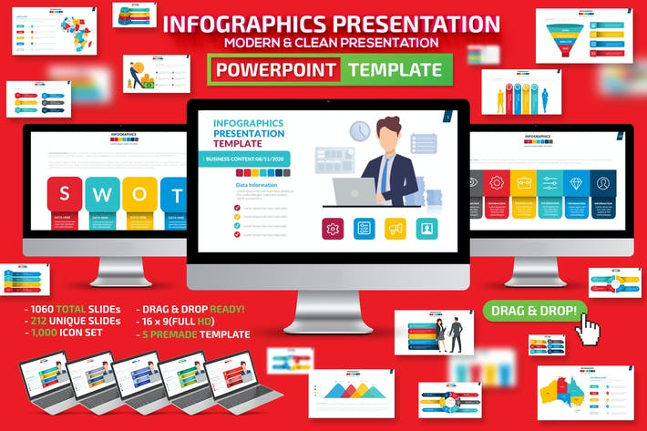 Thumbnail for Infographics Powerpoint Presentation