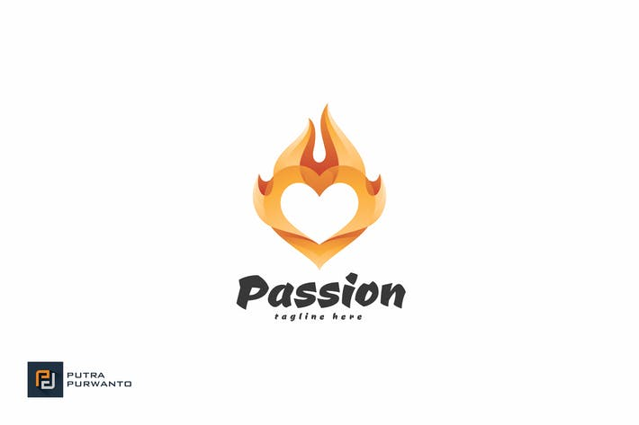 Thumbnail for Passion - Logo Template