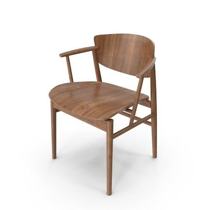 Dark Wood Chair