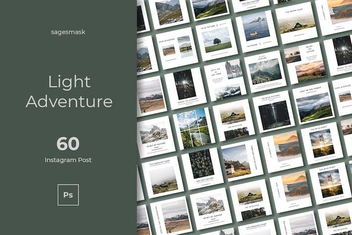 60 Light Adventure Instagram Post