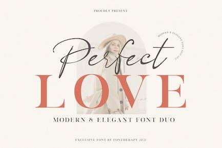 Perfect Love Elegant Business Font