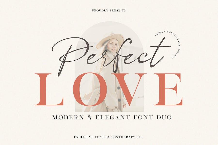 Perfect Love Elegant Business Police
