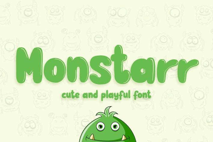 Thumbnail for Monstarr - Bonita y juguetona fuente hecha a mano