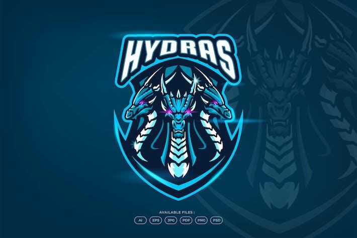 Thumbnail for Hydra Dragon Mascot Emblem