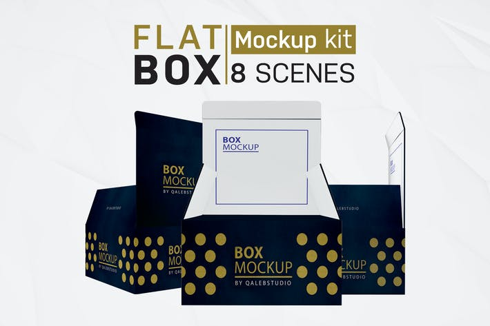 Thumbnail for Flat Square Box