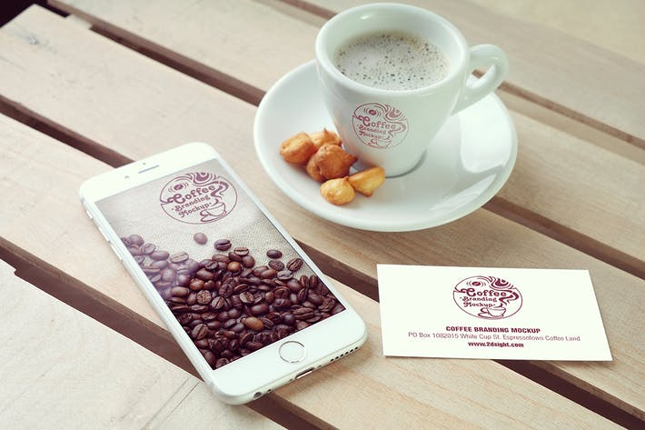 Cover Image For Cafe Branding Mockup