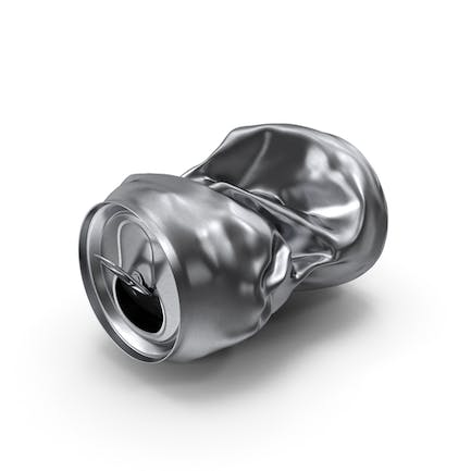 Crushed Beverage Can