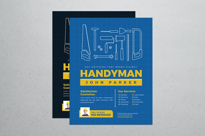 Thumbnail for Handyman Flyer