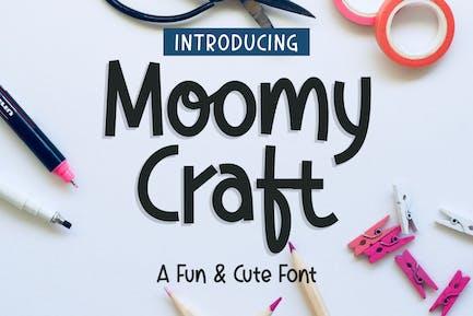 DS Moomycraft - Tipografía juguetona
