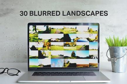 30 Beautiful Blurred Landscapes