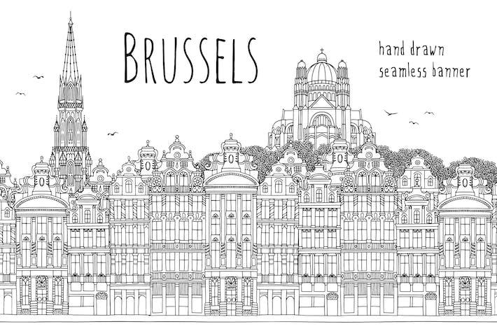 Thumbnail for Bruxelles - bannière sans couture