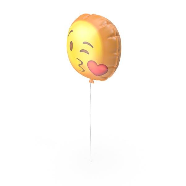 Kissing Emoji Ballon
