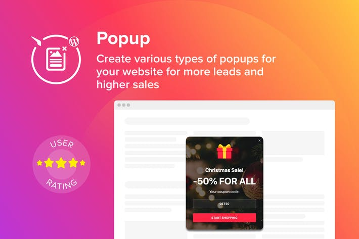 Thumbnail for WordPress Popup Maker Plugin