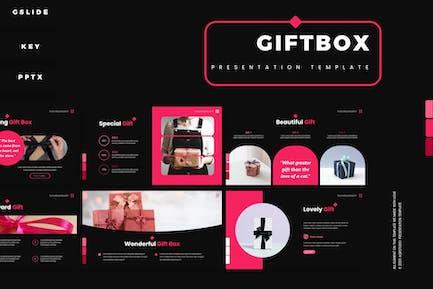 Geschenkbox - PräsentationsVorlage