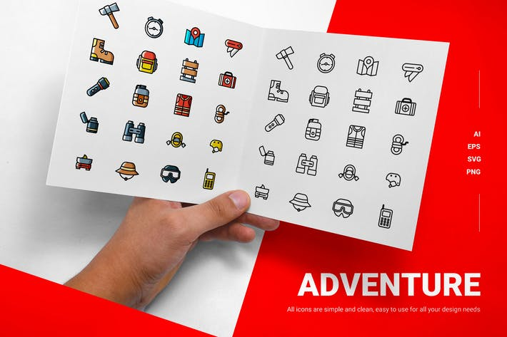 Aventure - Icones