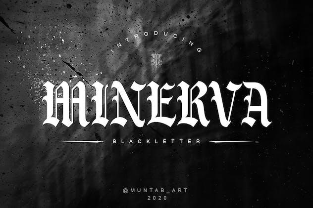 Minerva | Blackletter Font