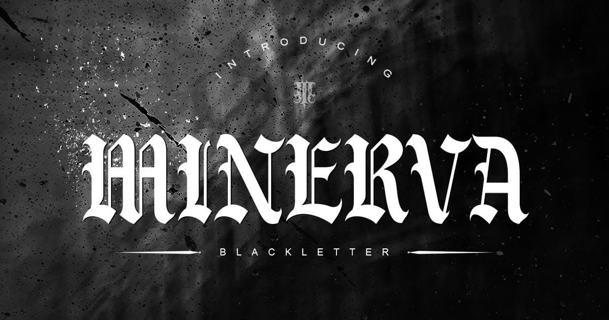 Download Minerva   Blackletter Font by Muntab_Art