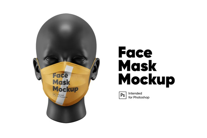 Thumbnail for Medical Mask Mockup