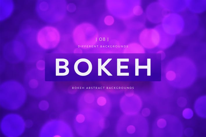 Thumbnail for Bokeh Abstract Backgrounds