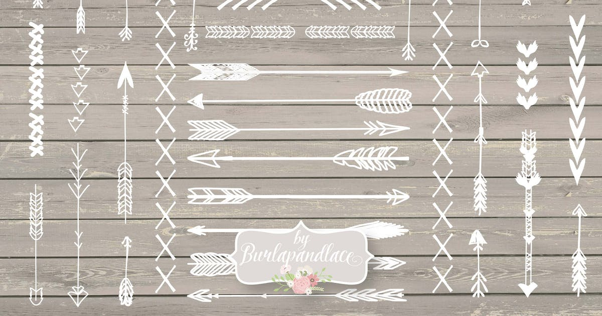 Download Arrows hand draw by burlapandlace
