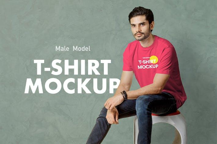 Thumbnail for T-Shirt Mockup 11