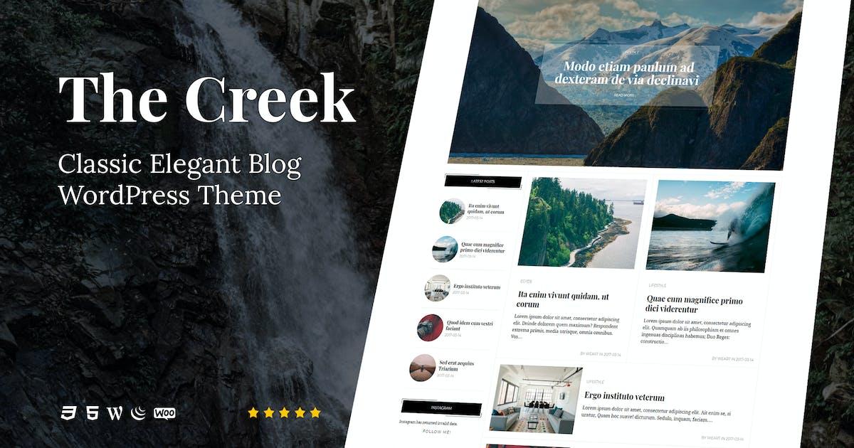 Download Creek - Classic Elegant Blog WordPress Theme by weartstudio