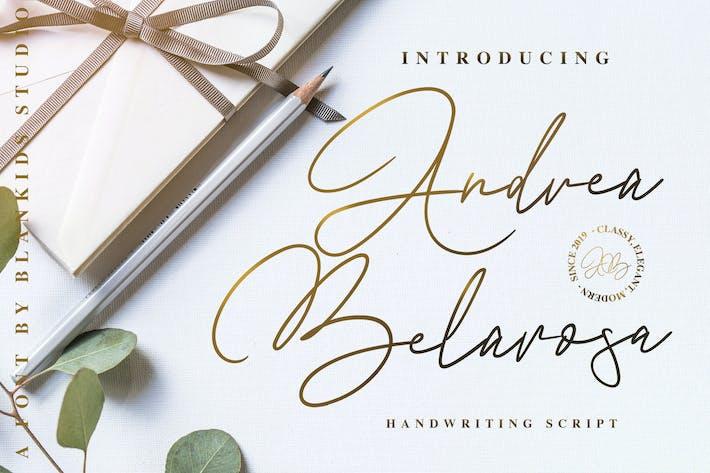 Thumbnail for Andrea Belarosa Font