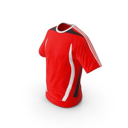 Camiseta de Fútbol Rojo