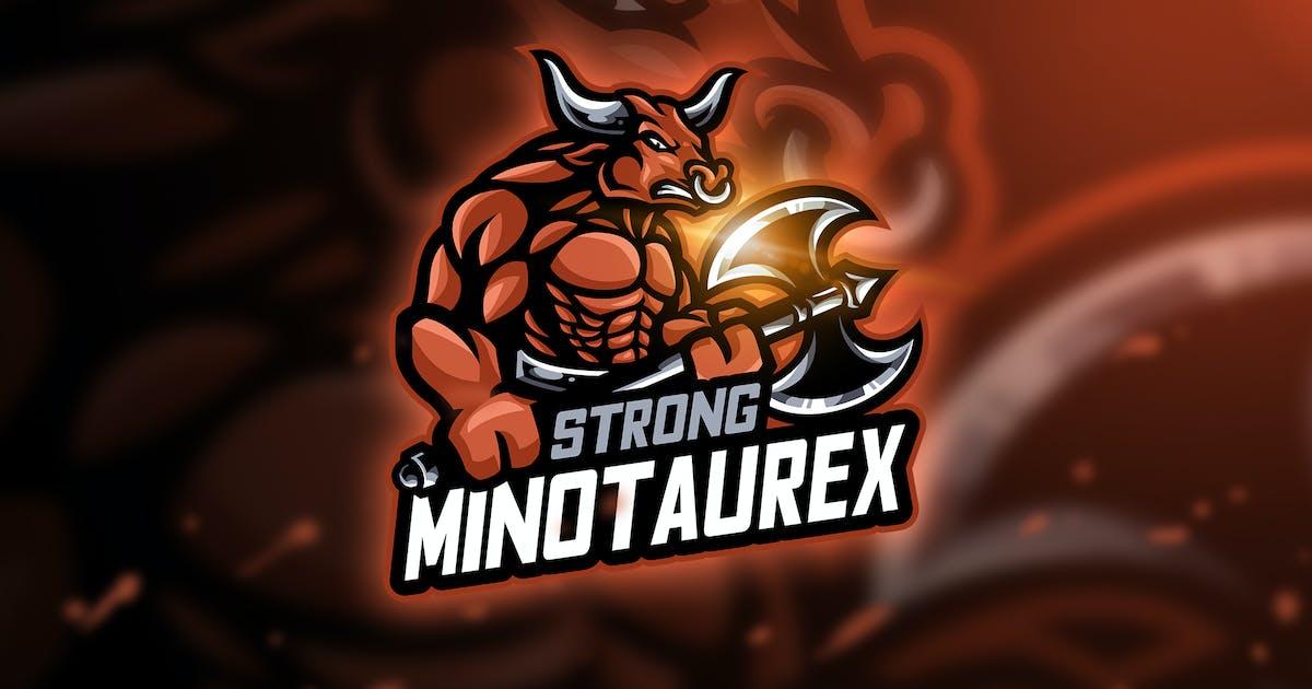 Download Minotaur - Mascot & Esport Logo by aqrstudio