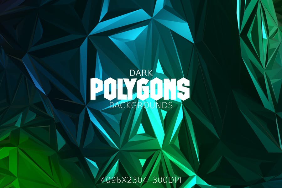 Dark Polygons Backgrounds