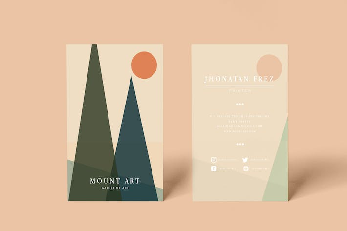 Thumbnail for Mount Business Card