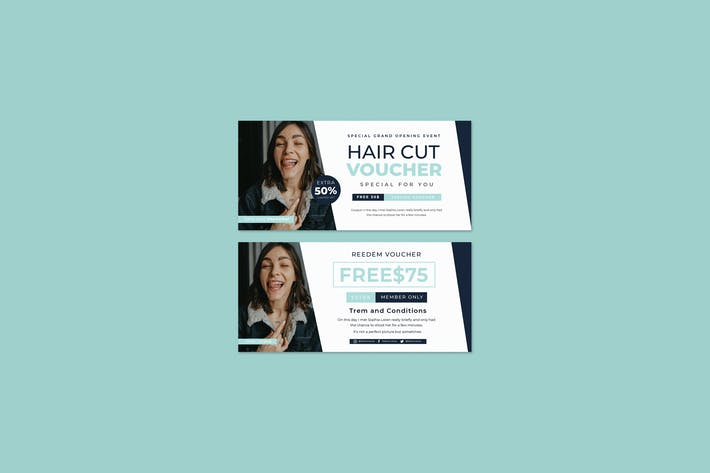 Hair Cut Voucher Vol.07